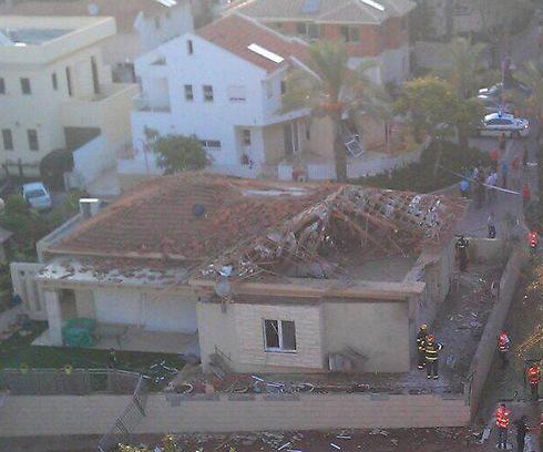 6:30 wake up call - Hamas rocket hits home in Ashkelon