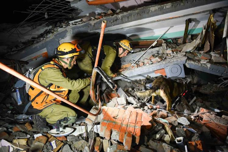 IDF search and rescue in Nepal