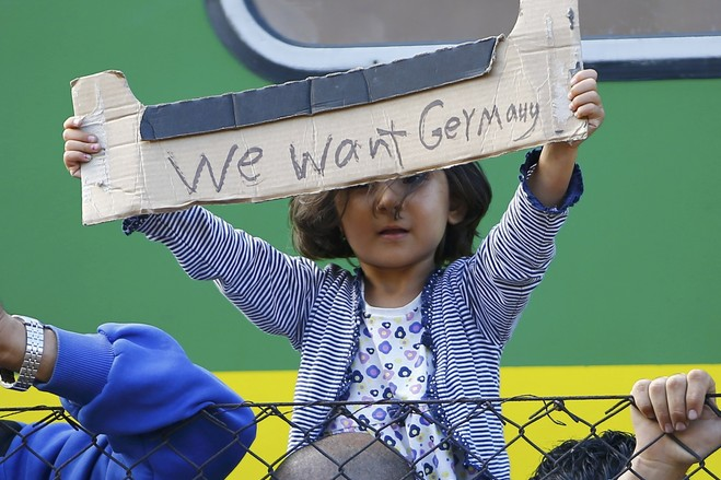 We want Germany