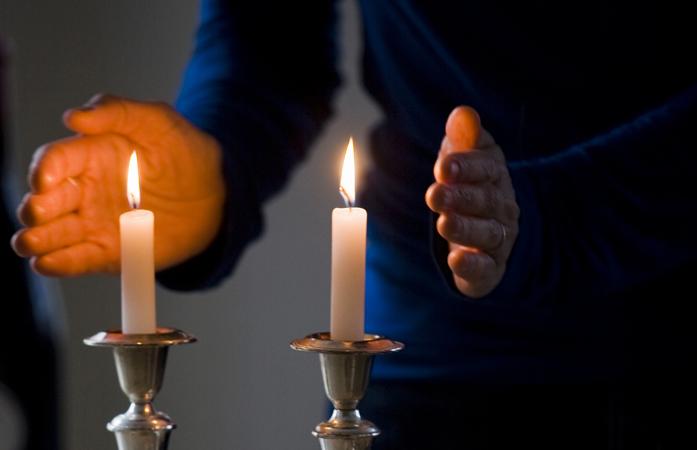 My Shabbat Candles