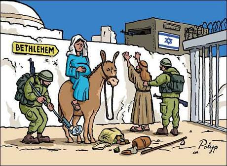 Christmas Story - Mary and Joseph in Palestine 2010