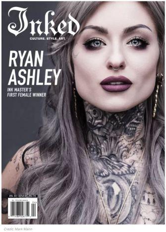 Ryan Ashley inked