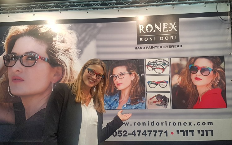 Roni's daughter models Ronex glasses